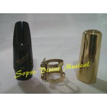 Boquilha Kit Sax Soprano Vandoren V5 Jazz S27