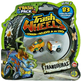 Trash Wheels - Blister Com 2 (novo; Pronta Entrega)