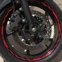 Friso Adesivo Roda M05 Refletivo Moto Yamaha Xj6 Tuning 600