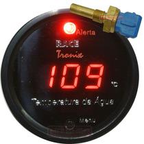 Medidor Temperatura Água Digital Carro Led Sensor 12v Painel