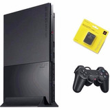Playstation 2 Slim Ps2 Destravado Completo Tudo Ok 100% !