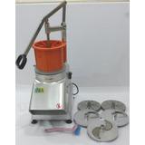 Procesador De Alimentos Y Vegetales Industrial 5 Discos 110v