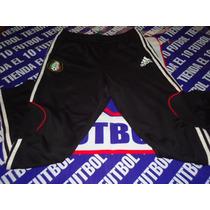 Mexico Pants Entubado Negro Futbol Soccer Practica