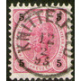Austria Antiguo Sello Usado Franz Josef Años 1890-96