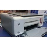Impresora Hp Multifuncion C3180 Con Cartuchos Funcionando