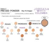 Pressed Powder Silky Sedoso Polvo Prensado Perfecto Jordana