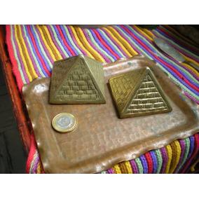 Piramide De Bronce Chico !!!