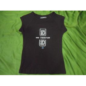 Camisa Franela One Direction Artistas Online Talla 8 10 12