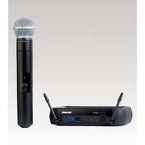 Microfone Sem Fio Shure Bastao Pgxd24br Sm58 Loja Física !!