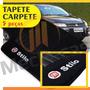 Tapete Carpete Bordado Personalizado Fiat Stilo + Para-sol
