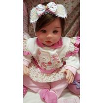 Linda Bebê Reborn Laura Promoção Real Baby Kelly Lemos