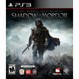 Shadow Of Mordor Legion Edition - Digital Ps3