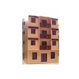 1524 - Predio De Apartamentos Frateschi Ho 1:87 Maquete