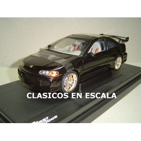 Honda Civic 1995 Tuning Del Film Fast Furious 1 - Ertl 1/18