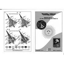 Condor Decals 72054 1/72 Mirage Iii Ea Cj Fuerza Aerea Arg