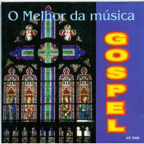 Cd O Melhor Da Música Gospel - Jesus Saviar Pilot Me - Novo*