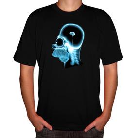 Camisa Desenhos Animados Homer Raio X