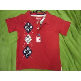 Camisa One Direction Artistas Online Talla 2