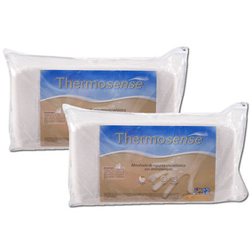Combo 2 Almohada Suavestar Thermosense Viscoelastica Clasica