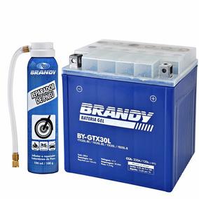 Bateria Jet Ski 4t Gel Brandy By-gtx30l + Reparador