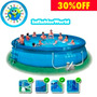 Pileta Inflable Intex 457 X 107 Super Completa Con Envio