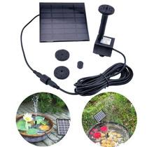 Bomba De Agua Solar Para Fuente De Jardín La Plata