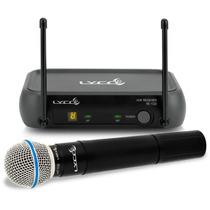 Microfone Sem Fio De Mão Lyco Vh102pro-m - Frete Grátis