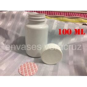 Envases Capsuleros Tapa Y Sello De Seg. De 100ml Paq. De25