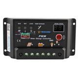 Regulador De Voltaje Panel Solar 20a 12/24volts C/display