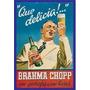 Imã De Geladeira Propaganda Da Cerveja Brahma