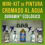 :: Pintura Cromo Al Agua - Mini-kit ::