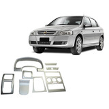 Painel Aço Escovado Astra 99/12 Hatch Sedan Painelkit