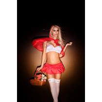Disfraz Caperucita Roja + Medias - S A C 016