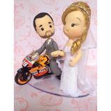 Noivinhos Em Biscuit,topo De Bolo Casamento,noivos Cute
