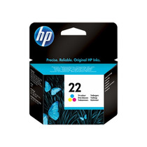Cartucho Original De Tinta Tricolor Hp22 (c9352al)