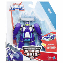 Transformers Rescue Bots - Blurr Transformavel 12cm