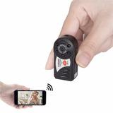 Câmera Espiã Com Wiff + Visão Noturna + Detector De Moviment