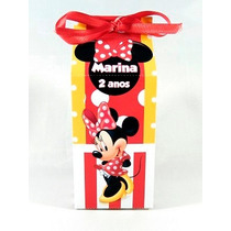Caixa Milk Minnie Mickey Personalizados