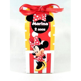 Caixas Milk Minnie Mickey Personalizados
