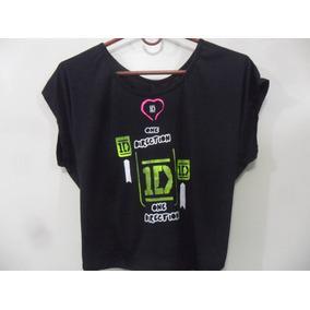 Camisa Anudada Escote One Direction Artistas Online