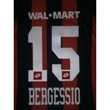 15 Bergessio Estampado San Lorenzo Lotto Titular-no Camiseta