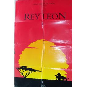 Poster Original El Rey Leon De Walt Disney 1994