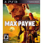 Max Payne 3 - Ps3 - Psn - Playstation 3 - Legendas Pt-br