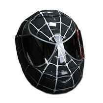 Capacete Moto Pintura Personalizada Grafitado Homem Aranha