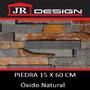Piedra Original Óxido Natural Importada 15 X 60 Cm