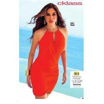 Vestido Cklass Naranja Primavera Verano 2015 Oferta