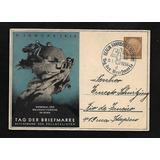 Alemanha- Dia Do Selo- Bilhete Postal Pre-franqueado -1938