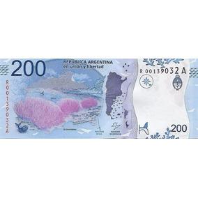 200 Pesos Reposicion Nuevo Modelo 2016 Sin Circular Palermo