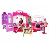 Casa De Barbie Casa Glam Con Muñeca Barbie 76 Cm