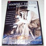 Tradicion Y Folklore Argentino Yupanqui Cafrune Dvd Nuevo